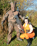Rocket Raccoon & Groot Costume