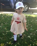 Rockford Peach Costume
