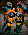 Rockin' Ninja Turtles Costume