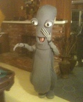Roger Smith the Alien Costume