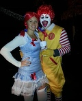 Ronald & Wendy Costume