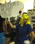 Roy Lichtenstein Painting Costume