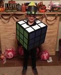Rubik's Cube Man Costume