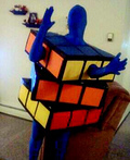 Rubix Cube Costume