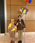 Russell and Mr.Fredrickson from Up Costume