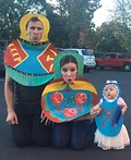 Russian Nesting Dolls Costume