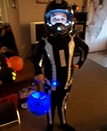 Sam Flynn from Tron Legacy Costume
