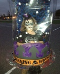 Scary Halloween Snow Globe Costume
