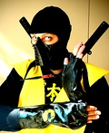Scorpion from Mortal Kombat Costume