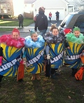 Second Grade Slurpees Costume