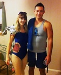 Shark Bait Costume