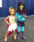 She-Ra and Skeletor Costume