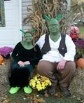 Shrek and Fiona Costume