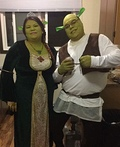 Shrek and Princess Fiona Costume