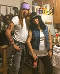Slash and Axl Rose Costume