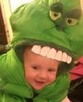 Slimer from Ghostbusters Costume