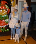 Baby Smurf with Parents Costume