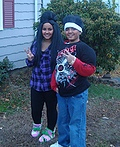 Snooki and Pauly D from Jersey Shore Costume