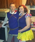 Snow White and Prince Charming Costume
