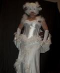 Snowy White Owl Costume