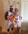 Space Jam Bugs & Lola Bunny Costume