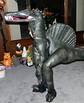 Spino-Dino Boy Costume
