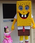 Spongebob Daddy and Bel Costume