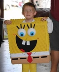 Spongebob and Gary Costume