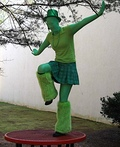 St. Patrick's Day Green Man Costume