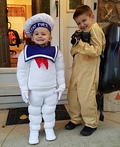Stay Puft and Ghostbuster Costume