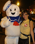 Stay Puft Marshmallow and Forbidden Love Costume