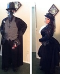 Steampunk Witch Doctor and his Wife Costume
