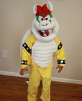 Super Mario World Bowser Costume