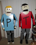 Terrance and Phillip Costume