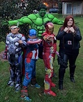 The Avengers Family Costume