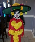 The Book of Life La Muerte Costume