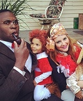 The cast of Annie Costume