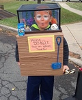 The Fish Tank Boy Costume