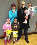 The Gru Family Costume