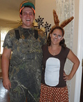 The Hunter and Deer Costume