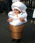 The Ice Cream Cone! Costume