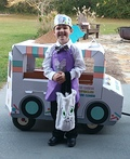 The Ice Cream Man Costume