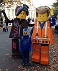 The Lego Family Costume