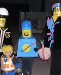 The Lego Movie Family Costume