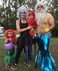 The Little Mermaid Crew Costume