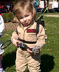The Littlest Ghostbuster Costume
