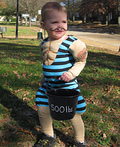 The Littlest Strongman Costume