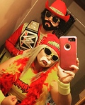 The Mega Powers Costume