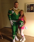 The Power Rangers Couple Costume