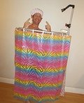 The Shower Man Costume